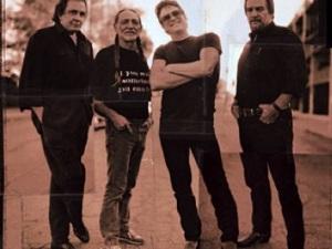 Johnny Cash and Highwaymen poster