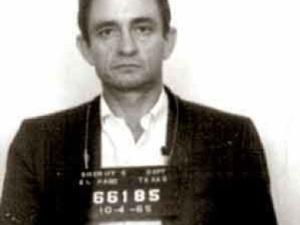 Johnny Cash prison mug shot