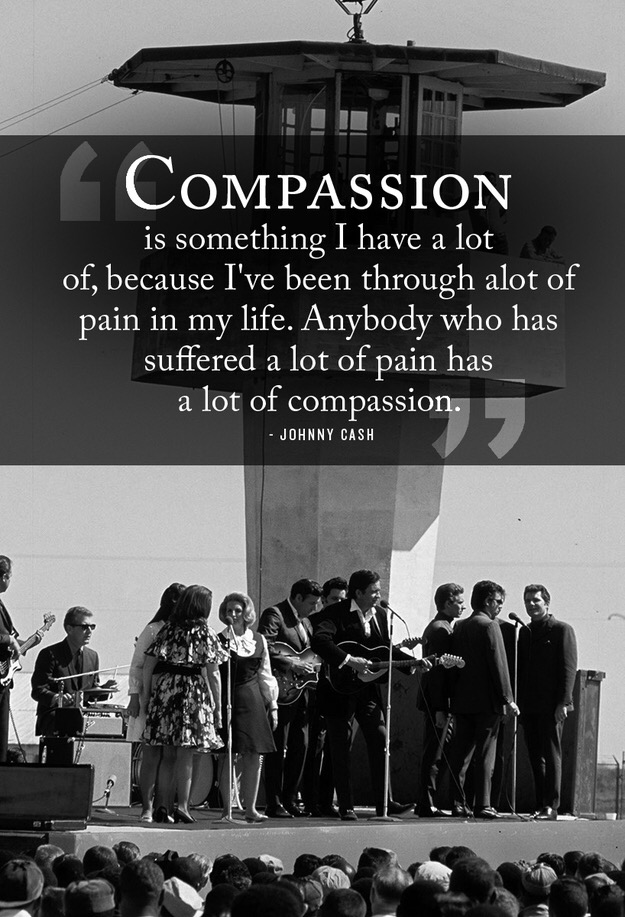 Compassion Is Something I Have A Lot Of Because Ive Been Through Pain In My Life Anybody Who Has Suffered